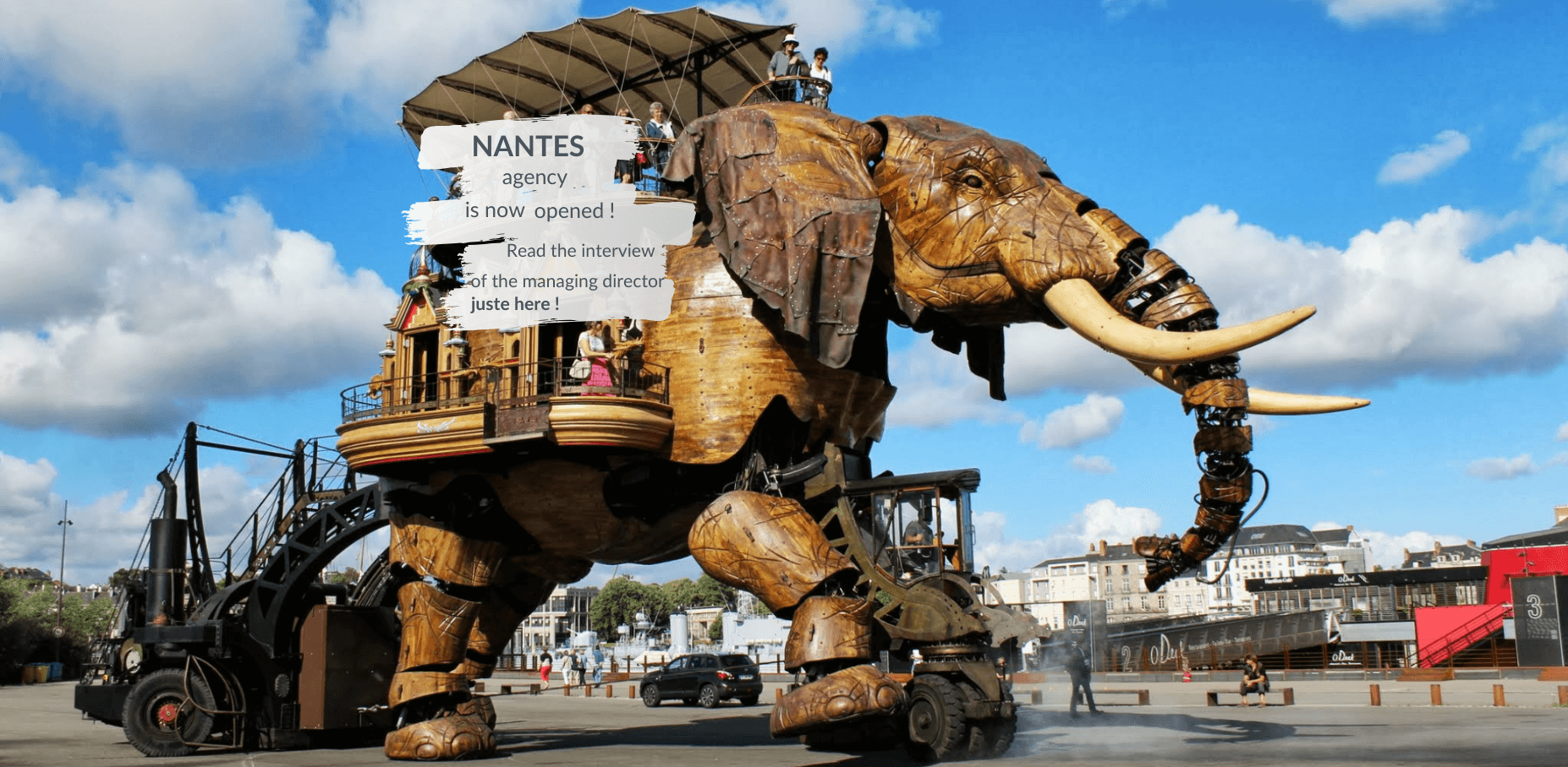 Nantes agency is now opened, read the interview of the managing director just here
